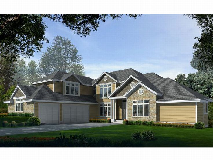 Luxury House Plan, 026H-0050