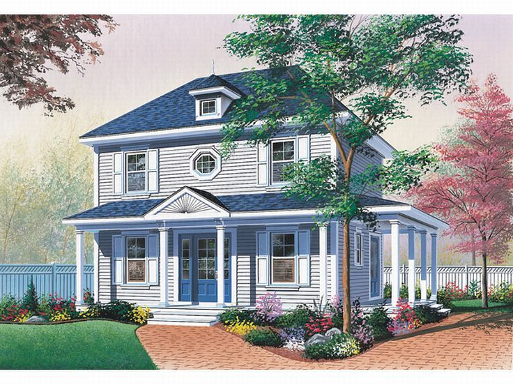 Small Home Design, 027H-0130