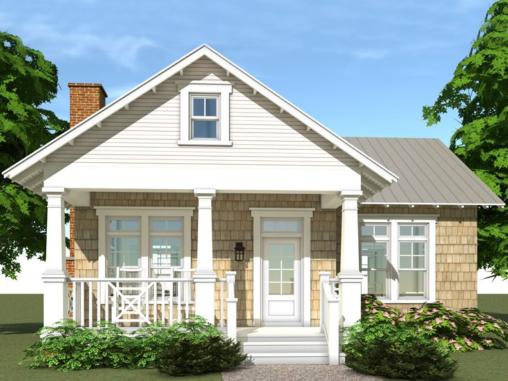 Cottage House Plan, 052H-0059
