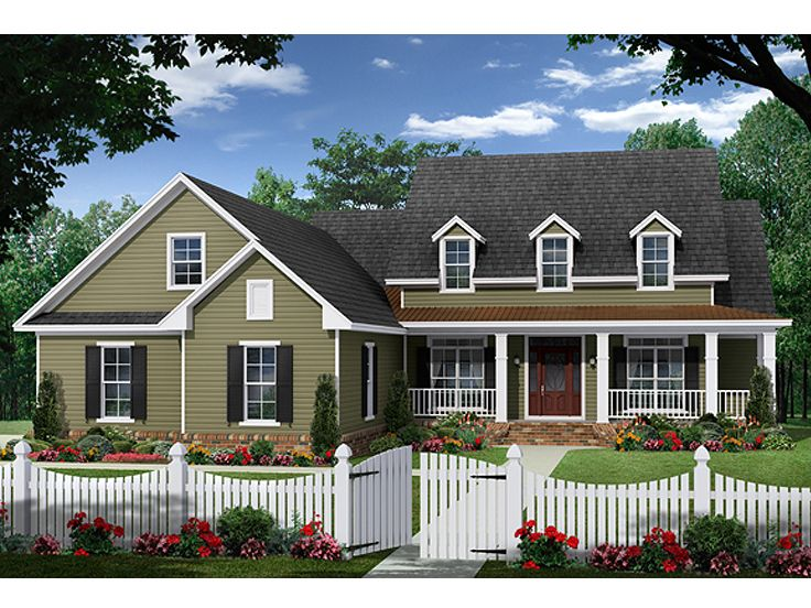 Country Home Design, 001H-0221