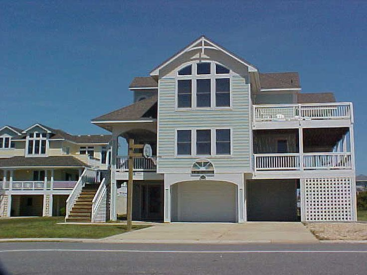 Coastal House Photo, 041H-0082