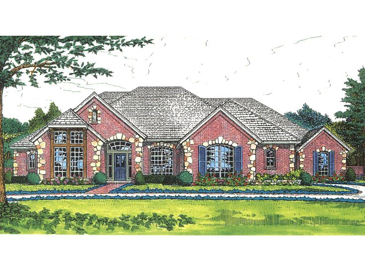 1-Story Home Plan, 002H-0099