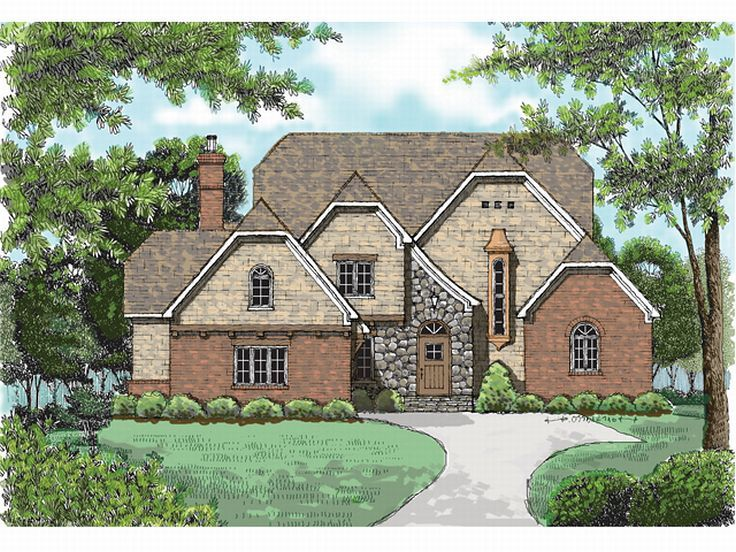 Two-Story House Plan, 029H-0046