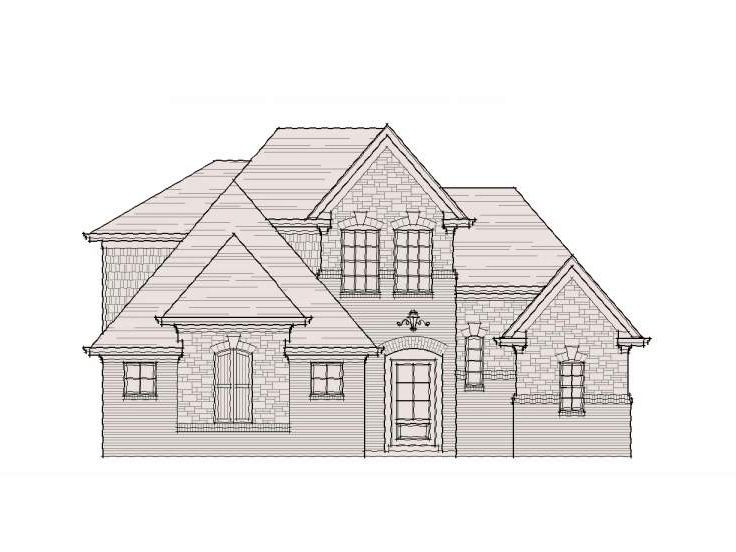 European House Plan, 061H-0067