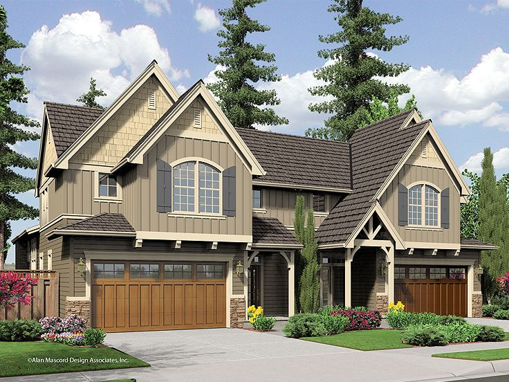 Plan 034m 0020 find unique house plans home plans and Unique duplex plans