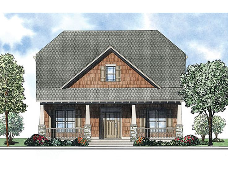 Craftsman Home Design, 025H-0246