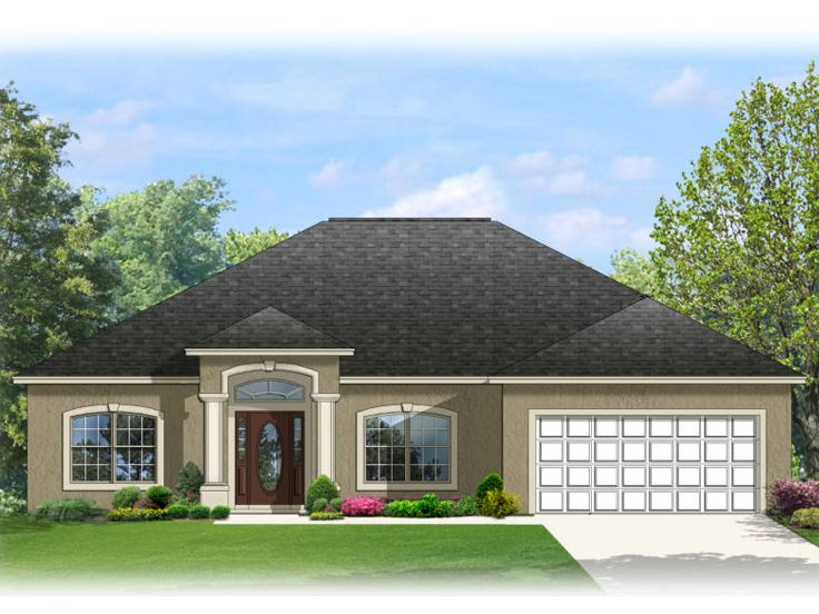 Florida Home Design, 064H-0061