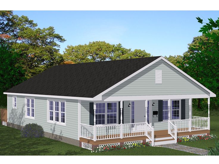 Country House Plans, 078H-0080