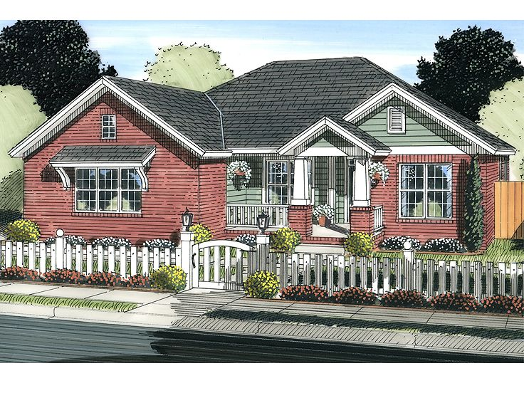 Ranch House Design, 059H-0170