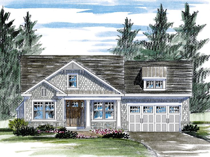 Empty Nester House Plans Bungalow Style Empty Nester