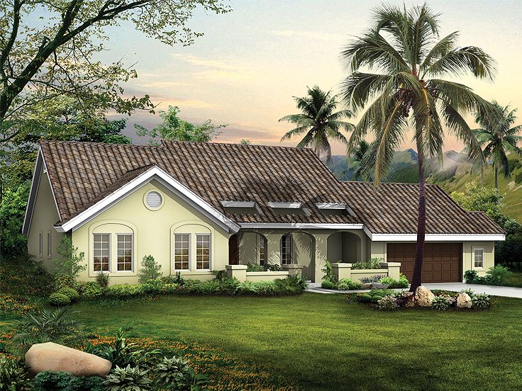 Sunblet Home Plan, 057H-0008