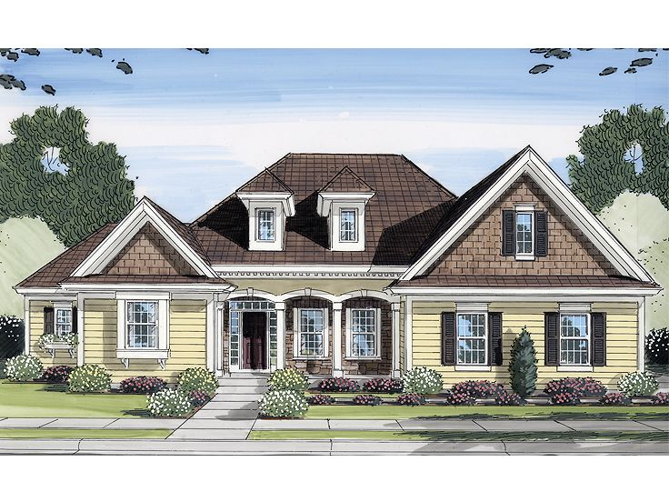 1-Story Home Plan, 046H-0044