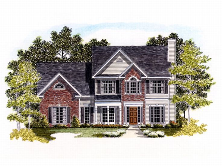 Traditional House Plan, 019H-0133