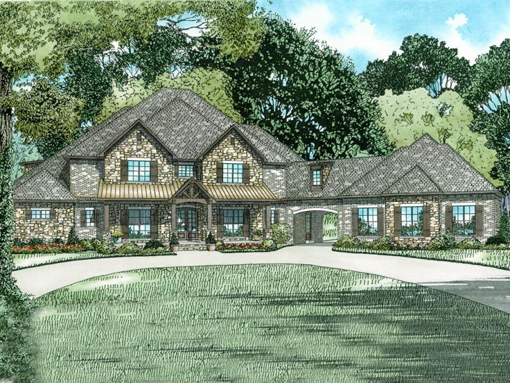 Two-Story House Plan, 025H-0334