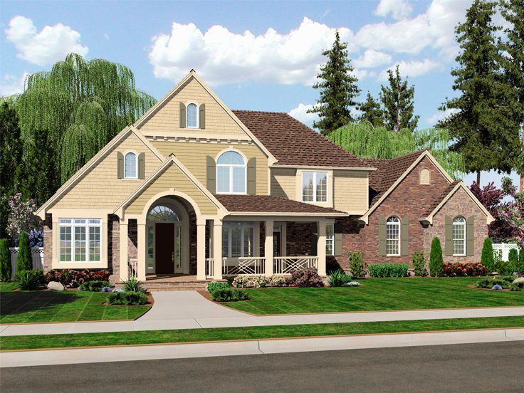 Country Farmhouse Plan, 046H-0085