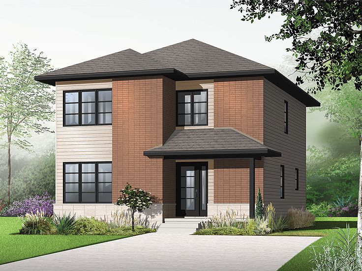 Plan 027h 0279 find unique house plans home plans and Modern 2 story homes