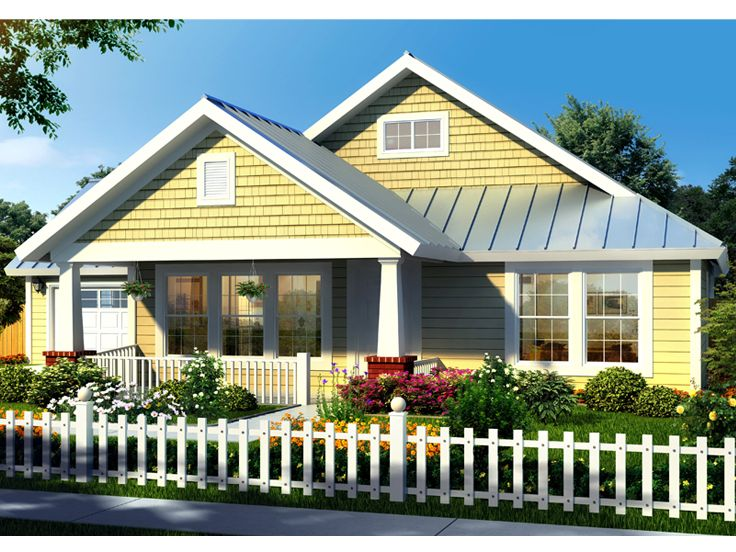 Delightful Bungalow House Plan, 059H 0019