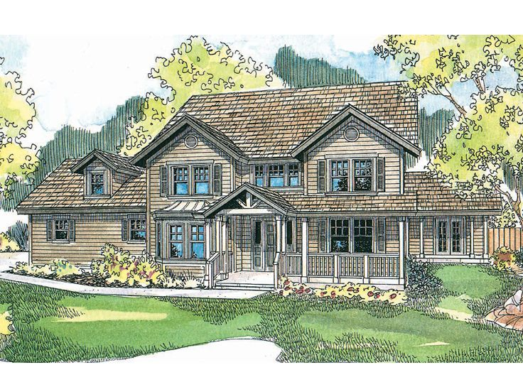 2-Story House Plan, 051H-0105