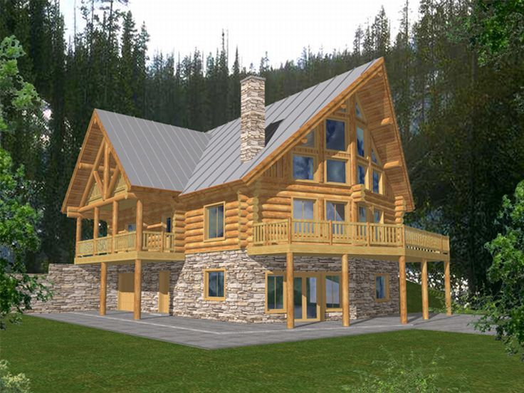 Mountain Log House, 012L-0034