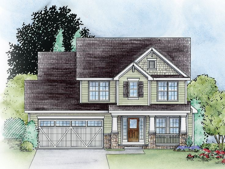Family House Plan, 031H-0222
