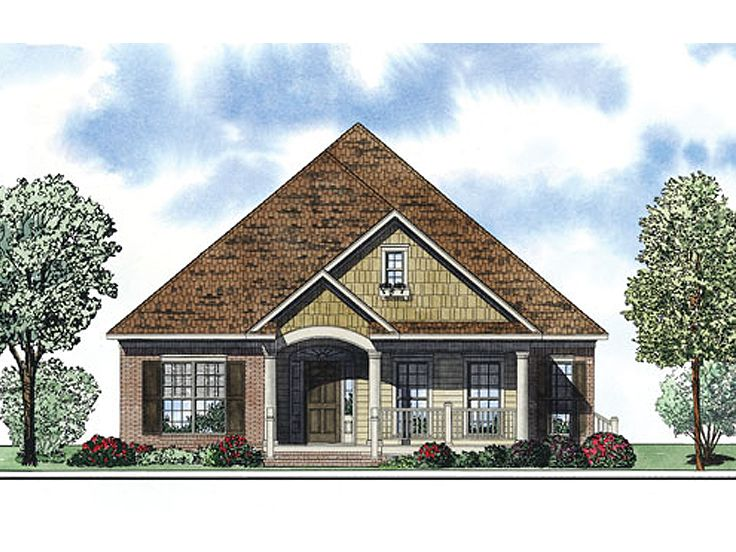 Ranch House Plan, 025H-0247