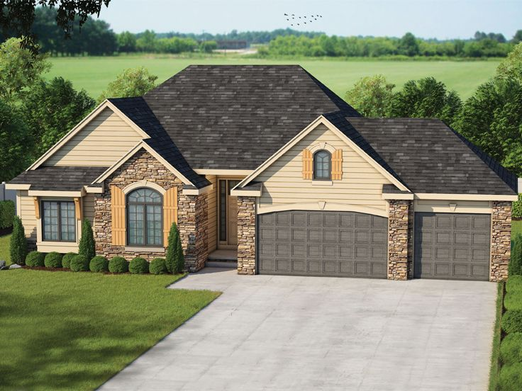Traditional House Plan, 031H-0321
