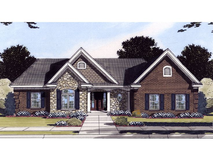 Affordable Home Plan, 046H-0097