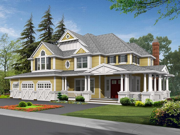 Two-Story House Plan, 035H-0032
