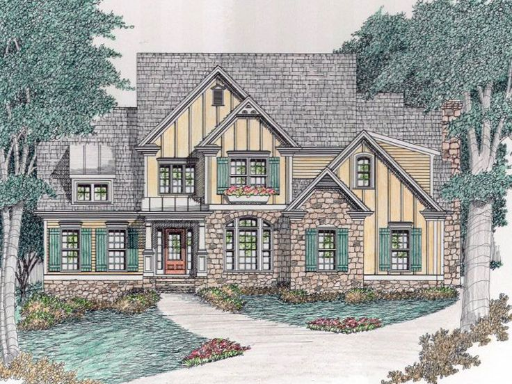 European Home Plan, 045H-0062