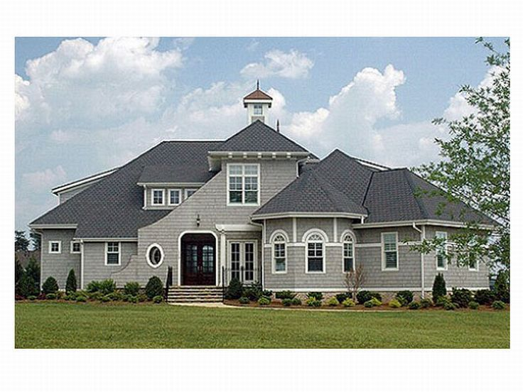 Unique Home Plan Photo, 029H-0061