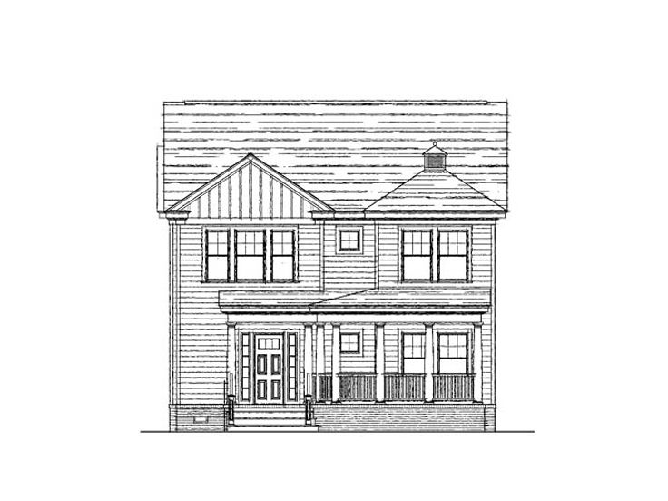 Two-Story House Plan, 058H-0014
