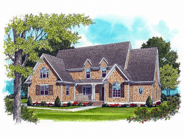 2-Story House Plan, 029H-0034