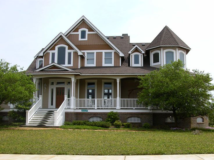 Victorian House Photo, 041H-0079