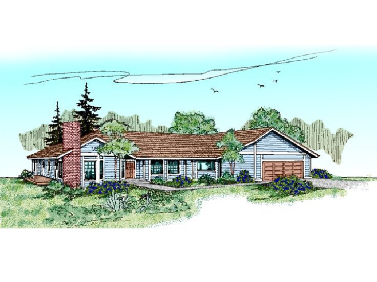 Small House Plan, 013H-0045