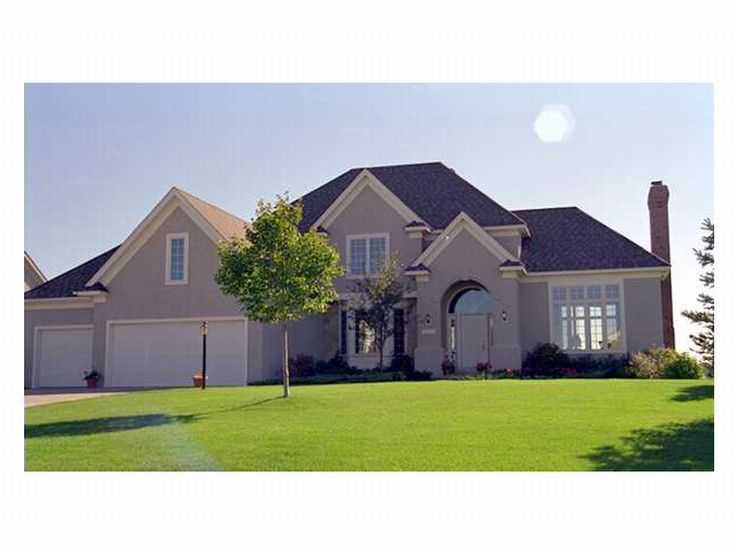 Sunbelt Home Plan Photo, 023H-0013