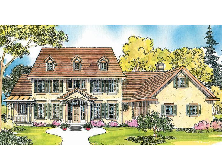 Premier Luxury Home Plan, 051H-0033