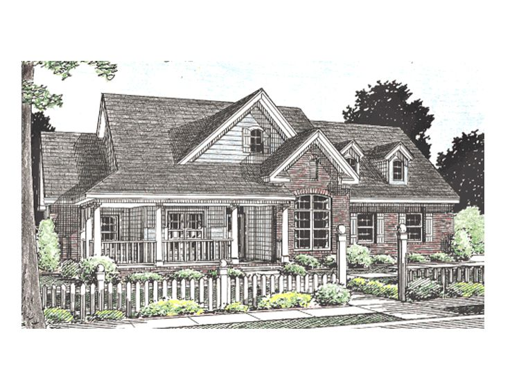 ountry Home Plan, 059H-0062