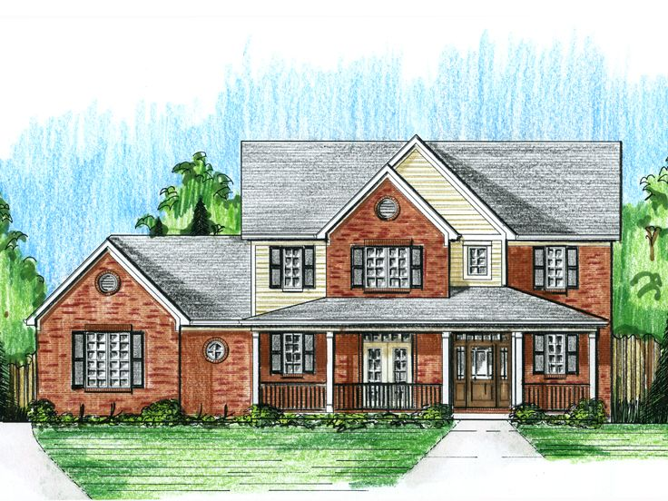Two-Story House Plan, 046H-0071
