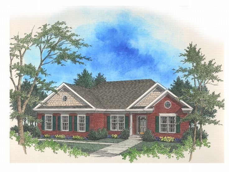 Traditional House Plan, 007H-0027