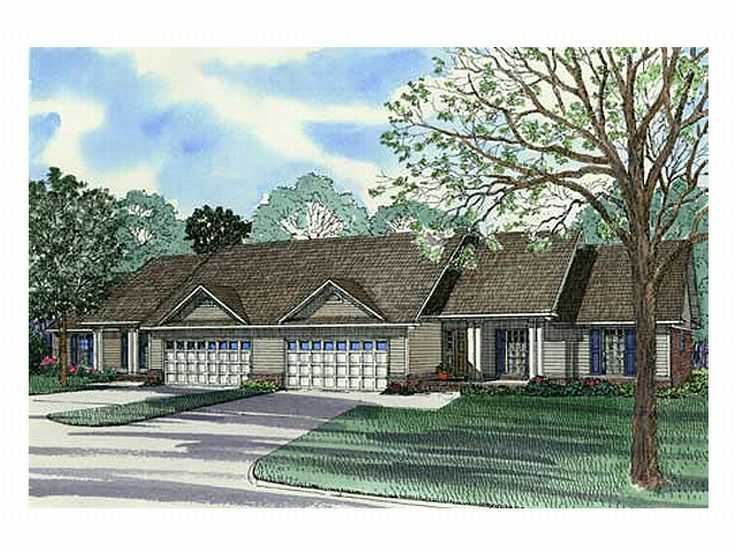 Plan 025m 0016 find unique house plans home plans and for Unique duplex plans