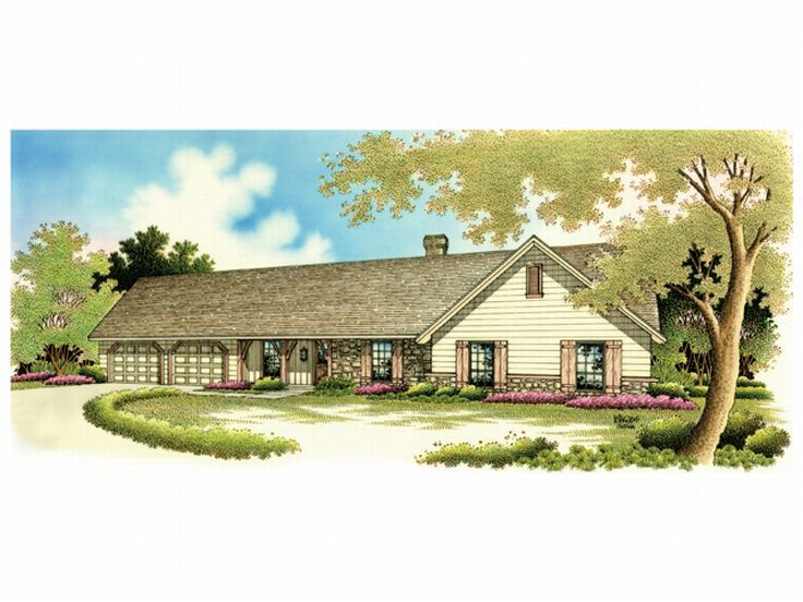 1-Story Home Plan, 021H-0073