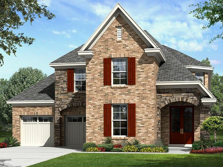 European Home Plan, 061H-0184