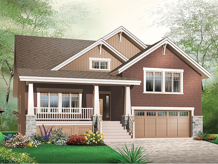 Craftsman House Plan, 027H-0263