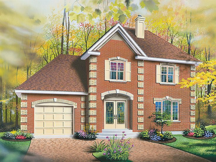Traditional Home Plan, 027H-0176