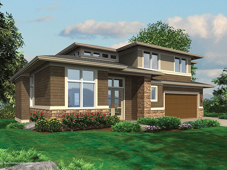 Plan 034h 0037 find unique house plans home plans and for Contemporary prairie home plans