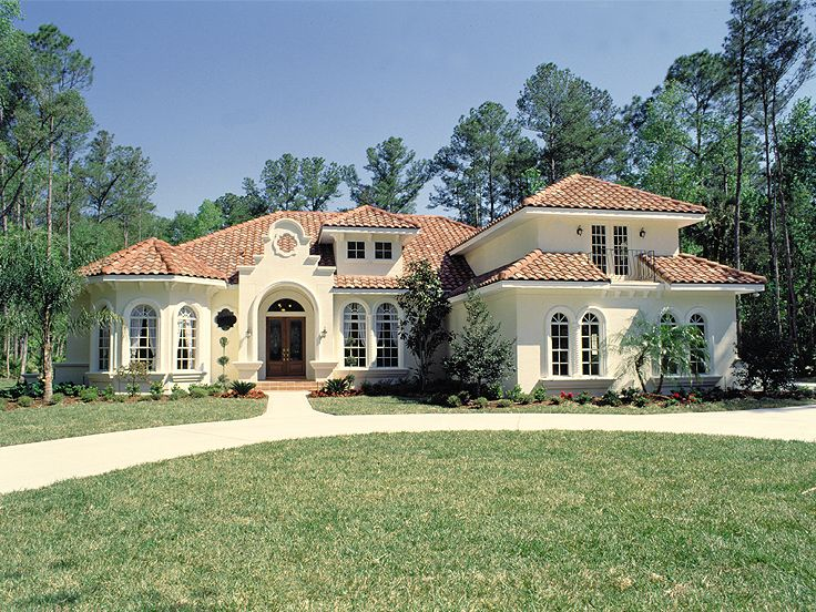 Plan 043h 0177 find unique house plans home plans and for Mediterranean homes images