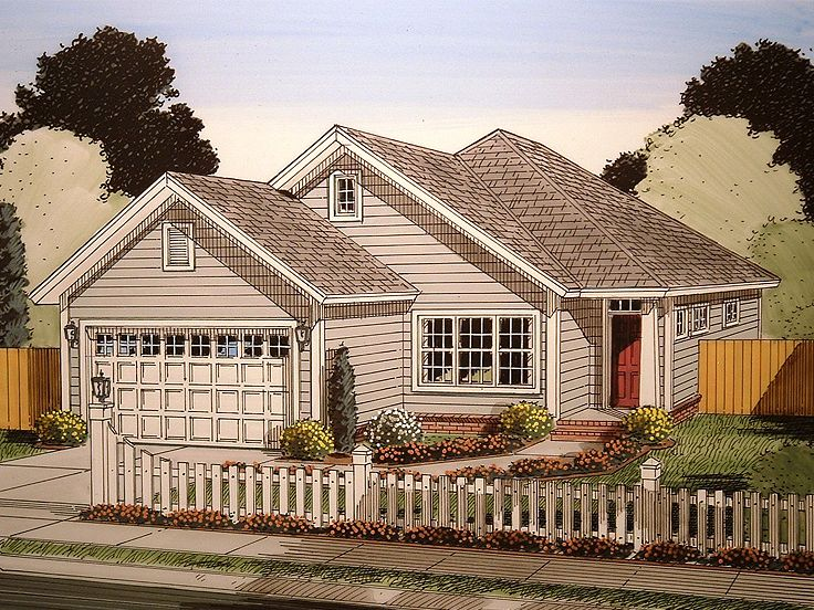 Small Home Design, 059H-0162