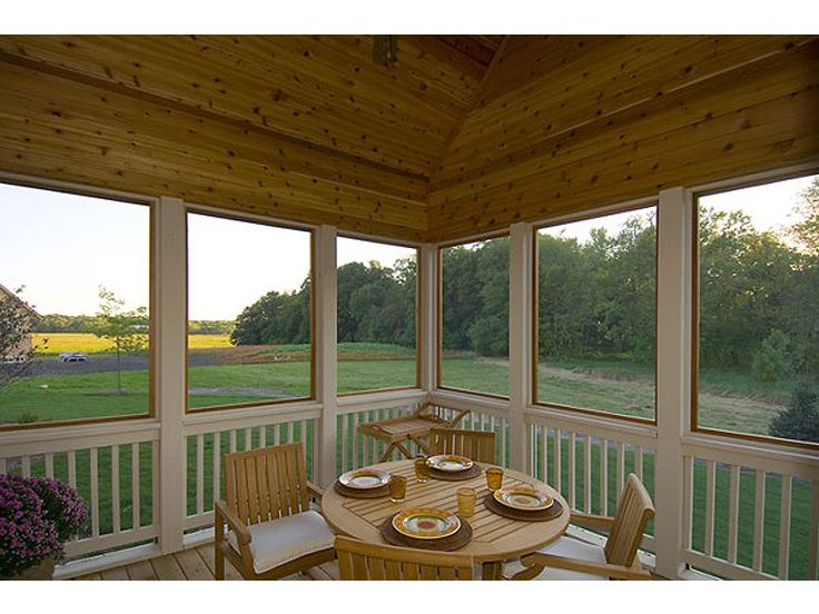 Screened Porch Photo, 007H-0121