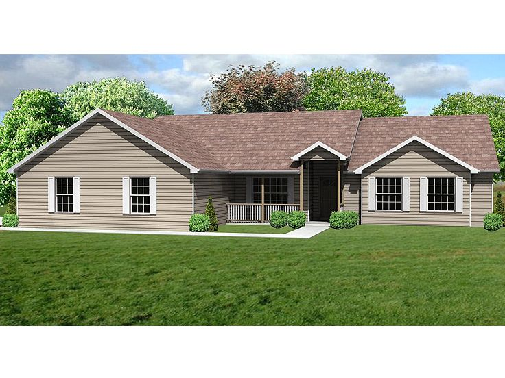 Traditional House Plan, 048H-0017