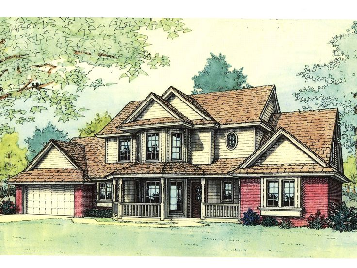 Two-Story House Plan, 002H-0006